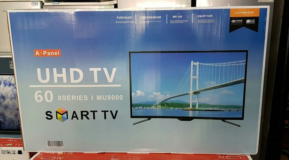 "Tv 60"" Samsung Smart Led UHD, HDMI, VGA, USB"