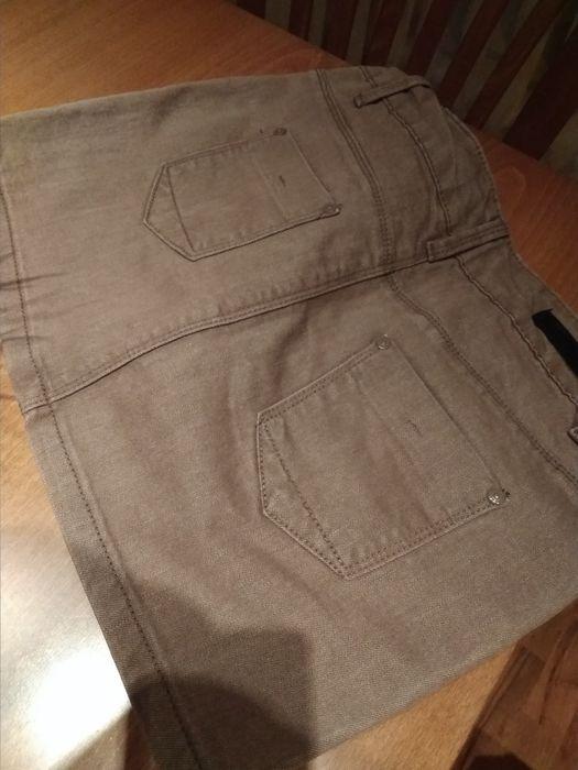 Къса дънкова пола,елегантен потник,дънки нови