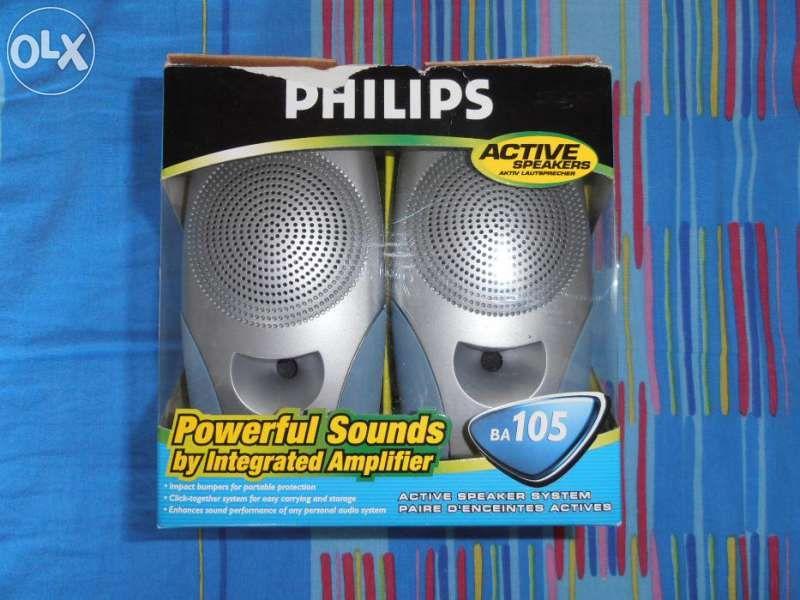 PHILIPS BA105 активни тон колонки.