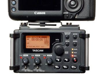 Recorder portabil Tascam DR-60DmkII 4 canale, nunti, eveniment