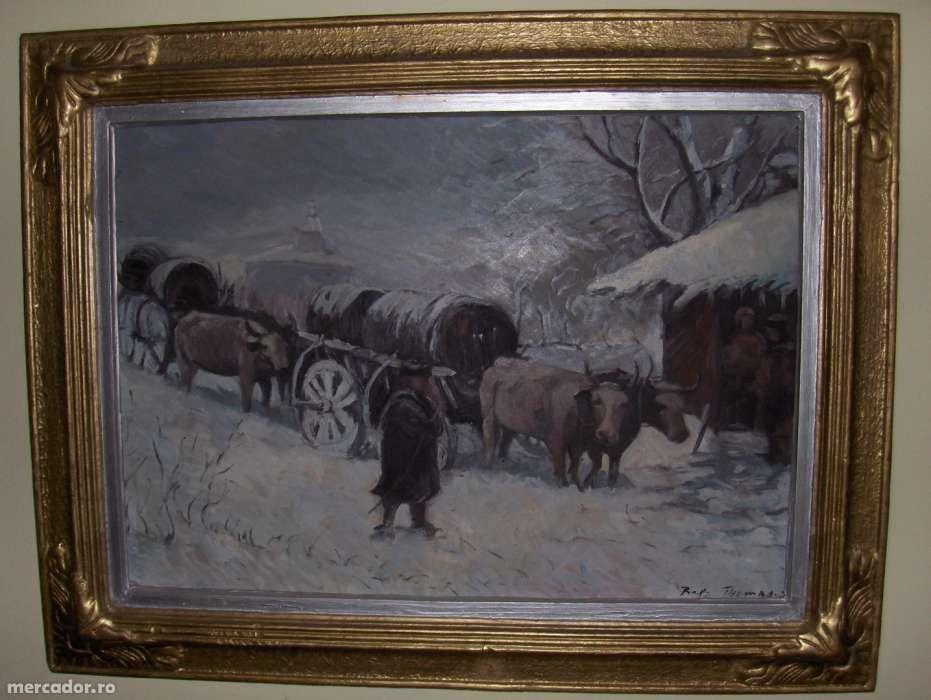 Car cu boi-reproducere Theodor Aman