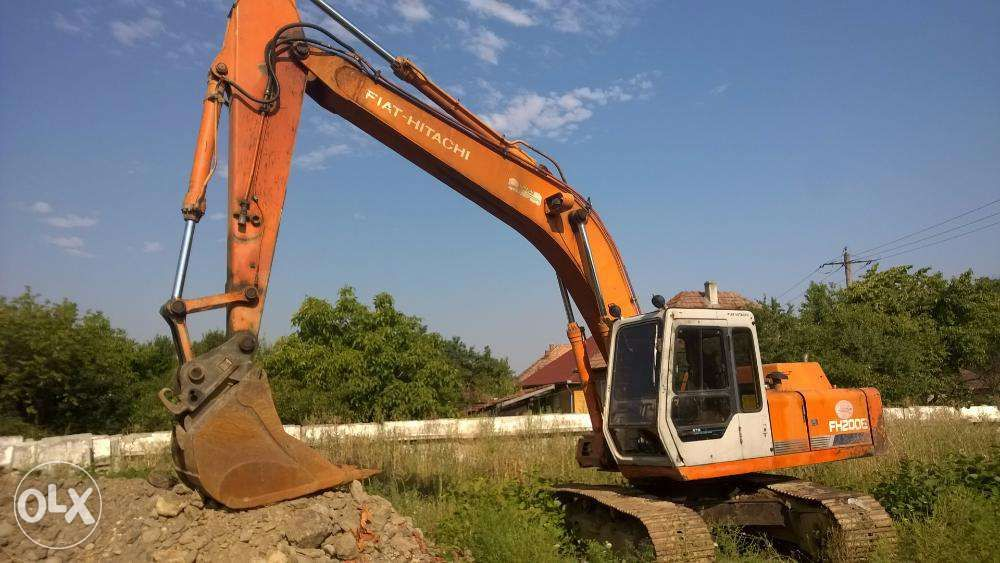 Piese fiat hitachi second-hand