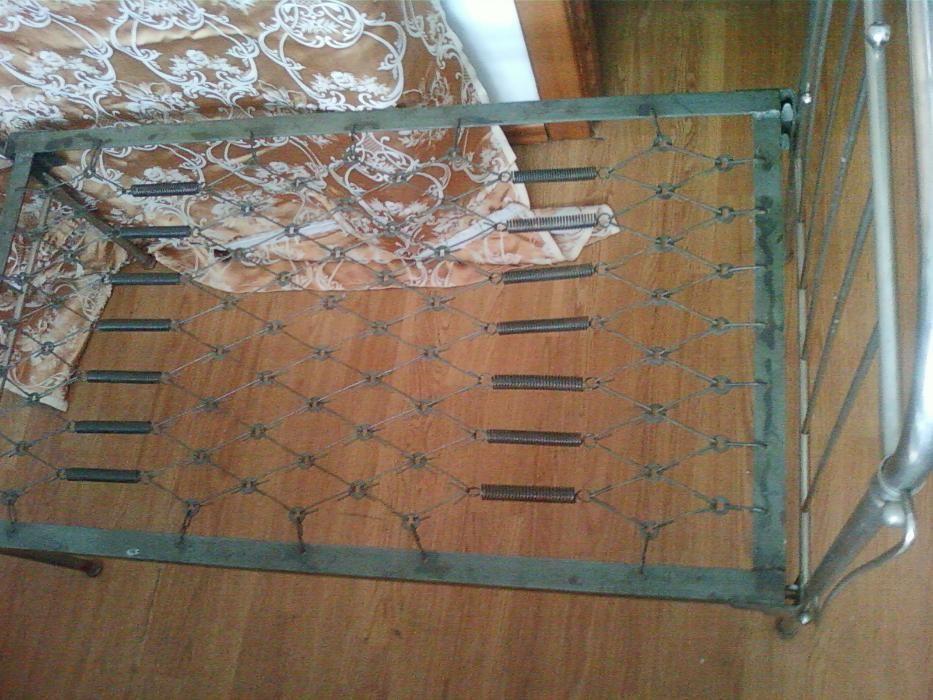Кровать детская 120х65 старинная антикварная немецкая ранее 1930 года