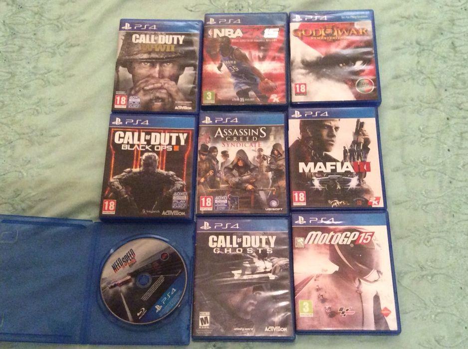 Vendo e troco Jogos da PlayStation 4