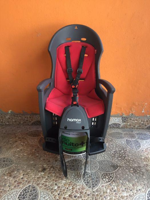 Cadeira de criança para bicicleta NOVA