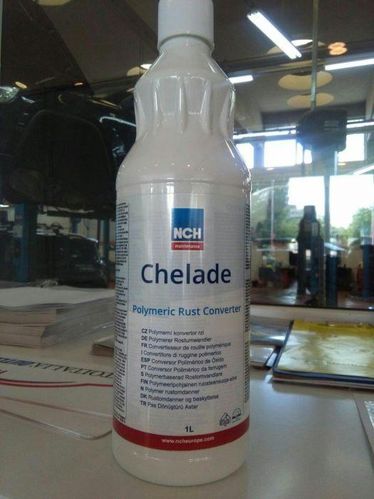 Anti rugina CHELADE (tratament chimic rugina (polimeric) antirugina