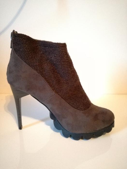 на ПОЛОВИН цена -Дамски обувки Fair Lady, с ток, нови