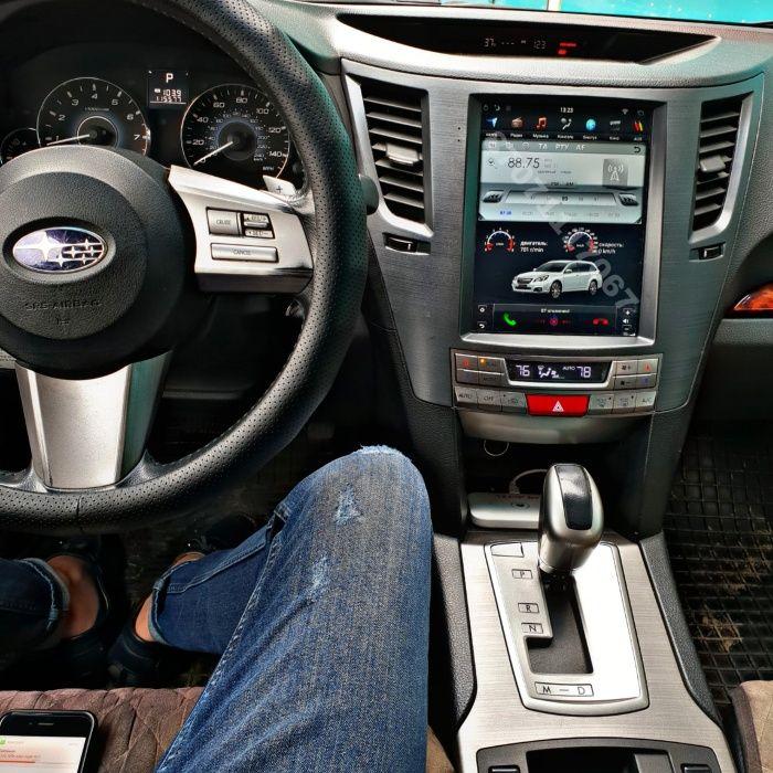 Автомагнитола Андроид Тесла Subaru Outback