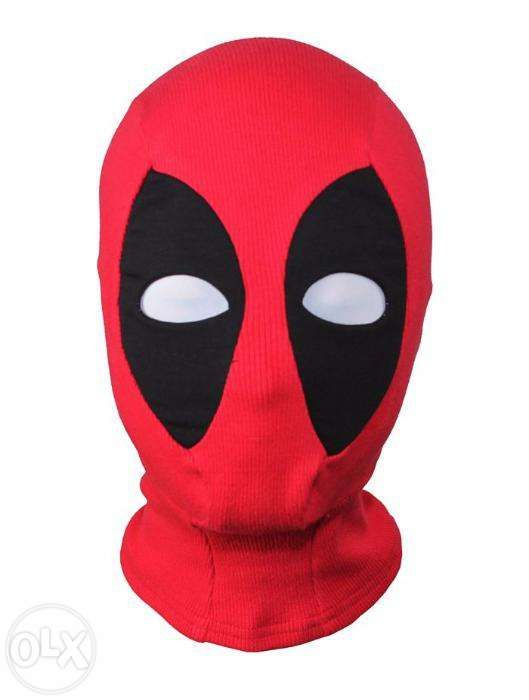 Masca cagula DeadPool Marvel Xmen Halloween petrecere dead pool +CADOU