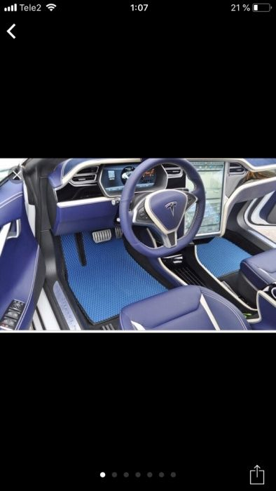 3D EVA Авто Коврики Ева полики Павлодар изготовим за 1 час на все Авто