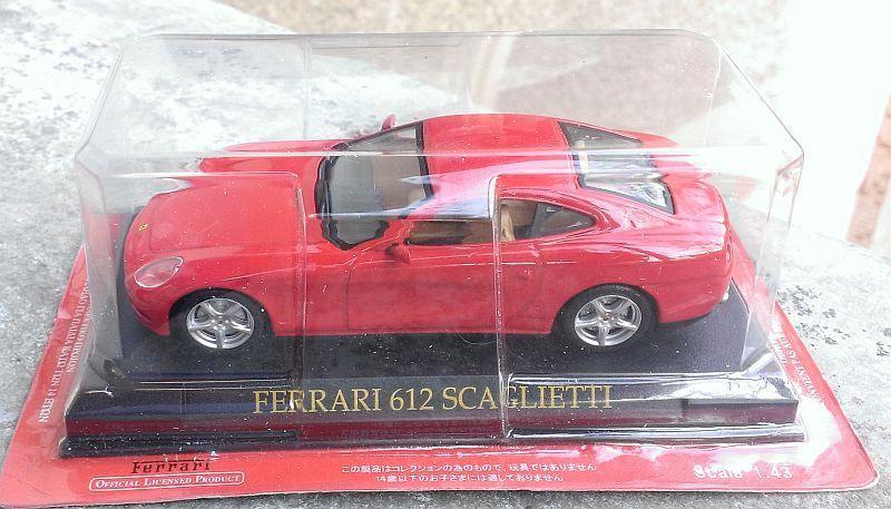 Macheta Ferrari 612 Scaglietti 2011 - Altaya 1/43