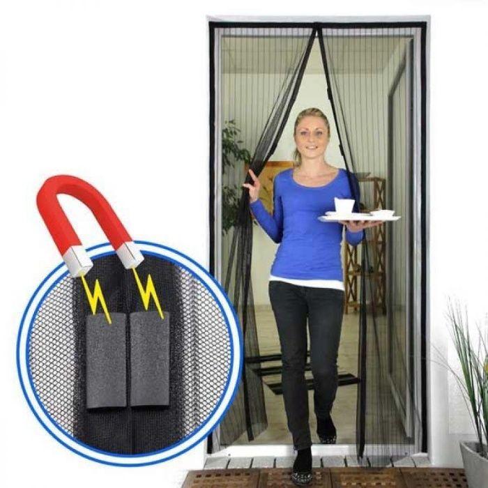 Perdea ALBA tip plasa anti-insecte cu inchidere magnetica. 120*210cm