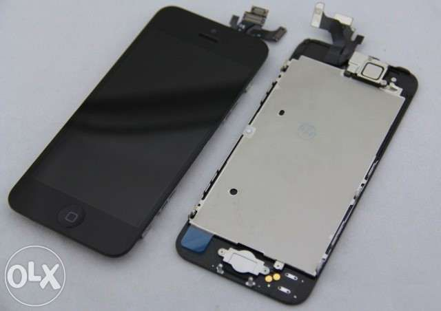 Display Original iphone 5 /5s negru/ alb (nou)