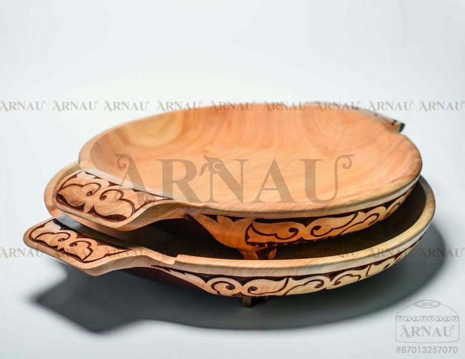 Астау для бешбармака посуда из дерева