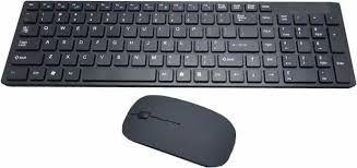 Teclado + Mouse sem fio (novo na caixa).