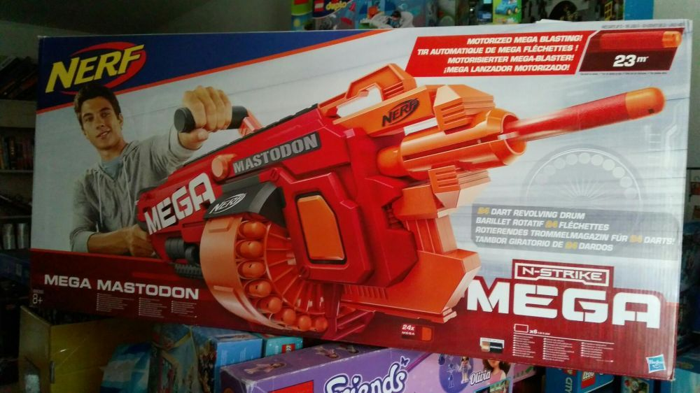 Nerf Mega Mastodon - нерф мега мастодон