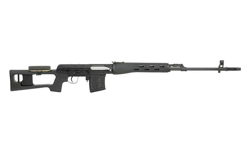 Sniper PSL SVD Dragunov 4j full metal , spring hop-up reglabil