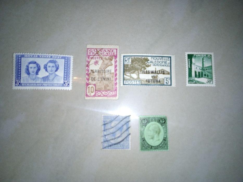 Пощенски марки от 1871-1950 г. от чужбина ценни
