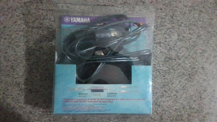 Cabo Midi Usb Yamaha para teclado, bateria electronica, etc