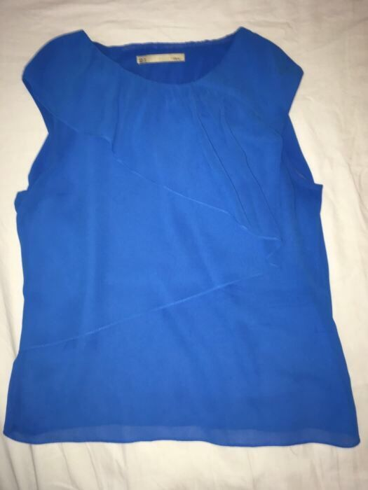 Top / Bluza albastru eclectic SFERA