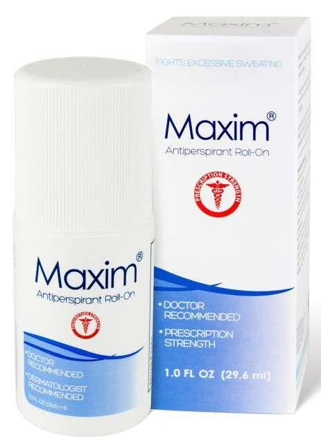 Maxim roll-on antiperspirant