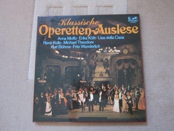 vinil rar box-set 3xLP Klassische Operetten - Auslese -impecabil