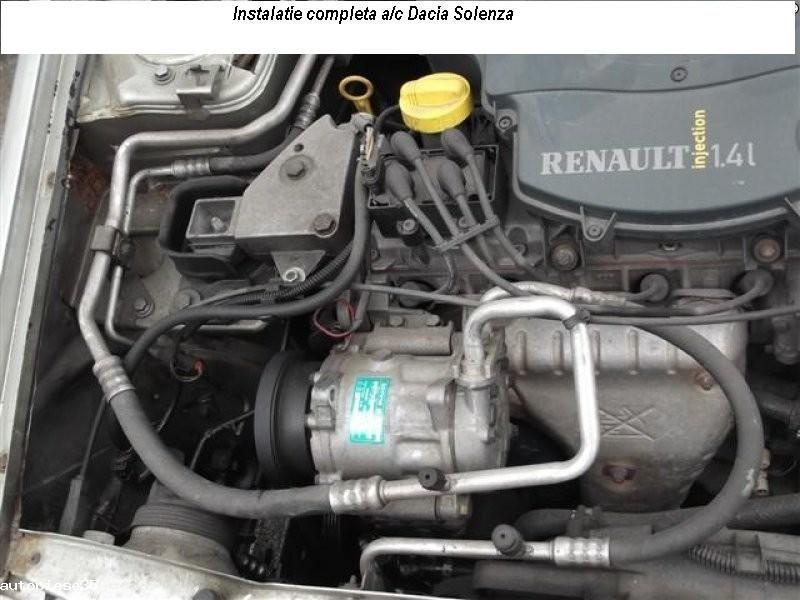 aeroterma ,motoras ,radiatorAC/caldura Dacia Solenza compresor AC