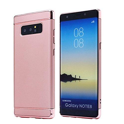 Husa Elegance Luxury 3 in 1 pentru Samsung Galaxy Note 8 Rose-Gold