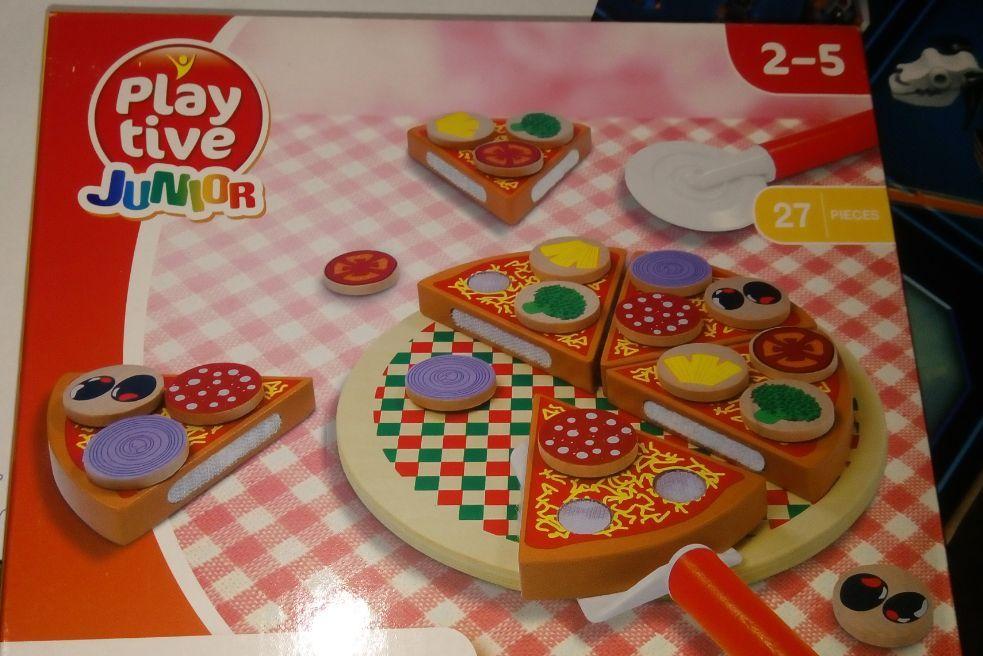 Wood Pizza с лепки за деца всички дървени играчки на хубави цени гр. Бургас - image 6