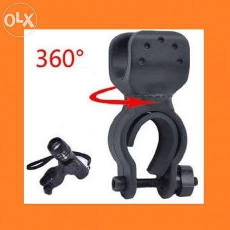Suport lanterna bicicleta (rotire 360 grade)