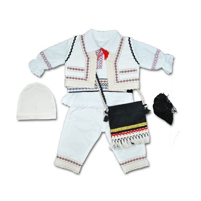 Costum national bebe | Costum traditional baieti | popular copii