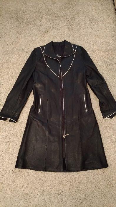 Geaca din piele lunga Femei - palton haina de iarna-toamna femeie dama
