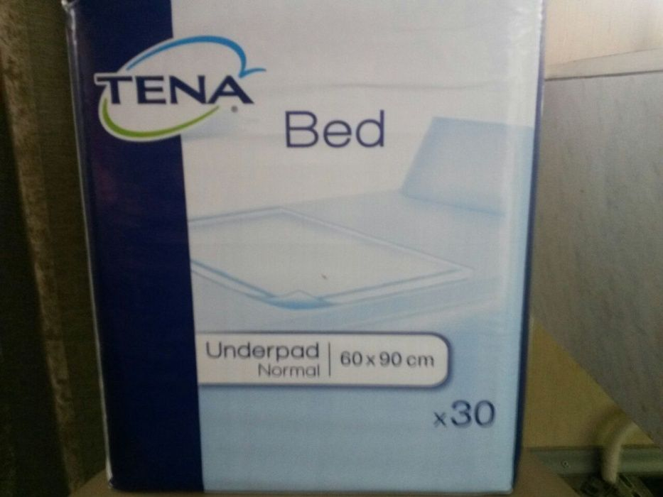 Впитывающие пеленки TENA Bed Normal 60x90 см, 30 шт. Усть-Каменогорск -  изображение 0ae74f0cf23