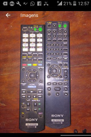 Remote sony