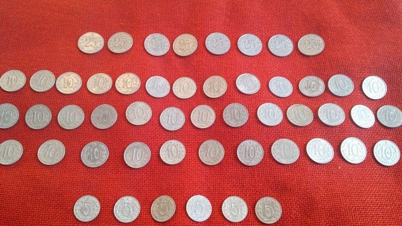 Чешки монети, 51 броя, емисии от 1962г. до 1969г., много запазени гр. Варна - image 2