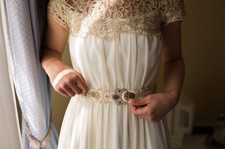 Rochie de mireasa la comanda, A-line (model grecesc)