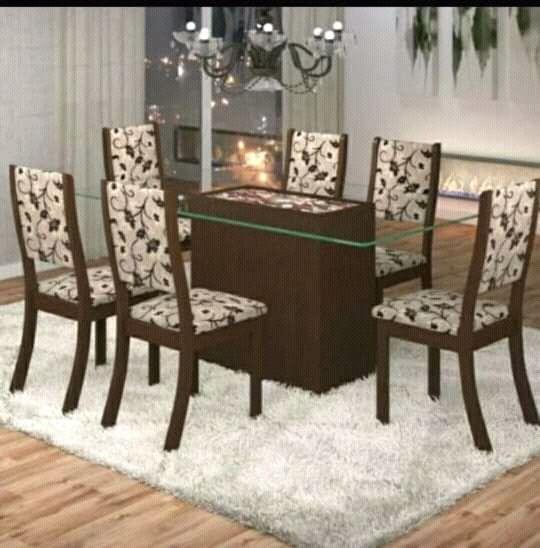 Mesa de Jantar de 6 cadira