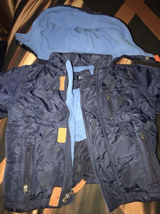 Зимняя куртка на 12-18 мес