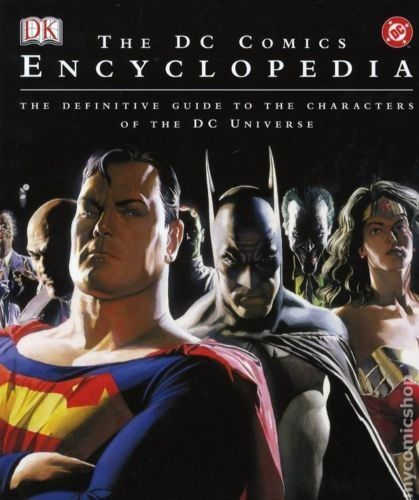 Enciclopedia DC Comics: Superman, Batman, Green Lantern, The Joker s.a