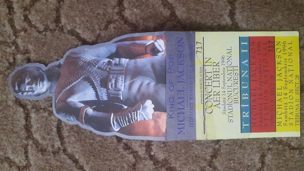 Vand bilet concert Michael Jackson