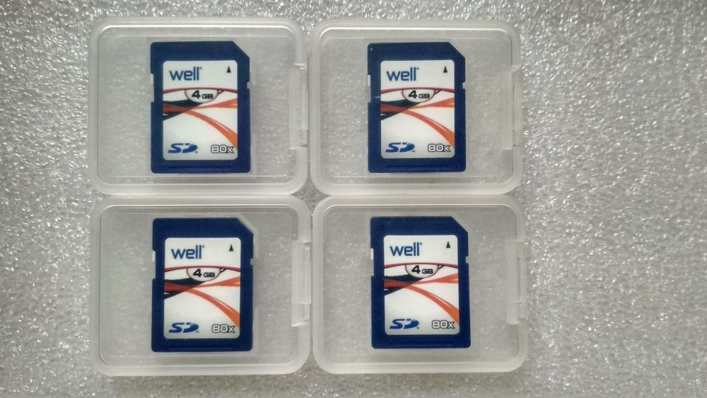 Card-uri memorie SD/HC 4 gb 2 gb