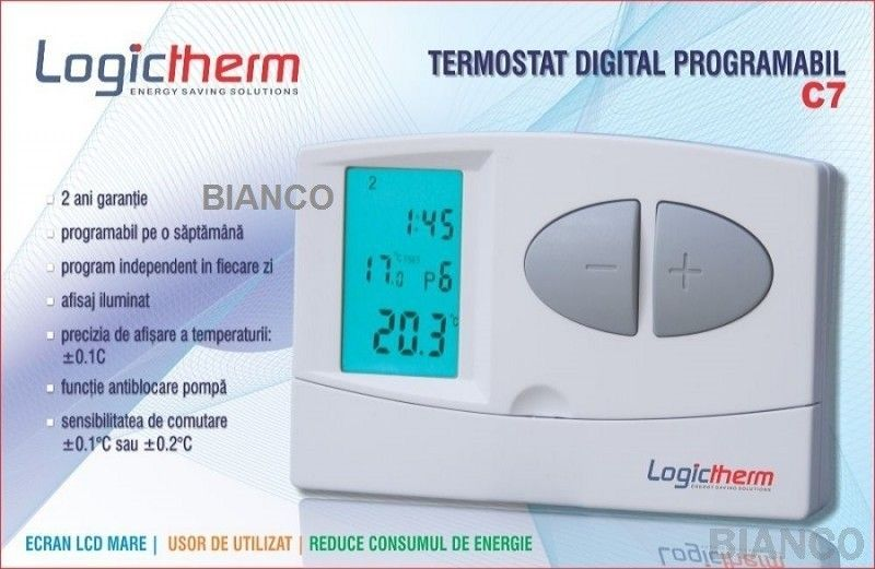 termostat ambient universal logiterm c7simplu