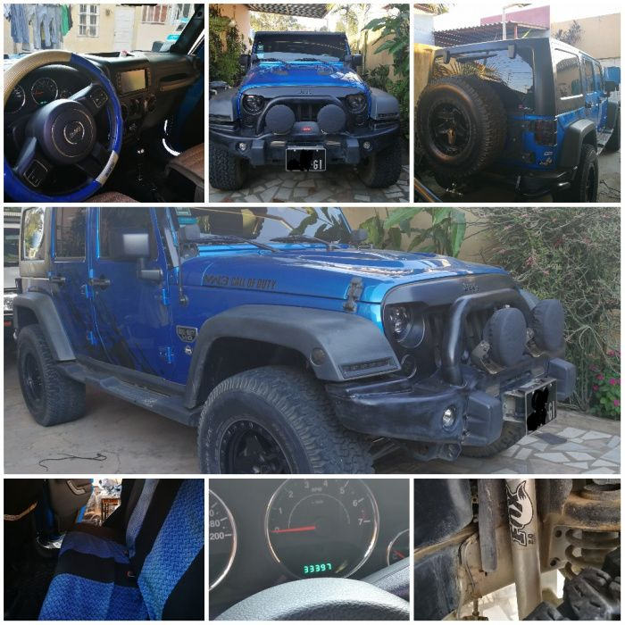 Jeep Wrangler Call of Duty Version