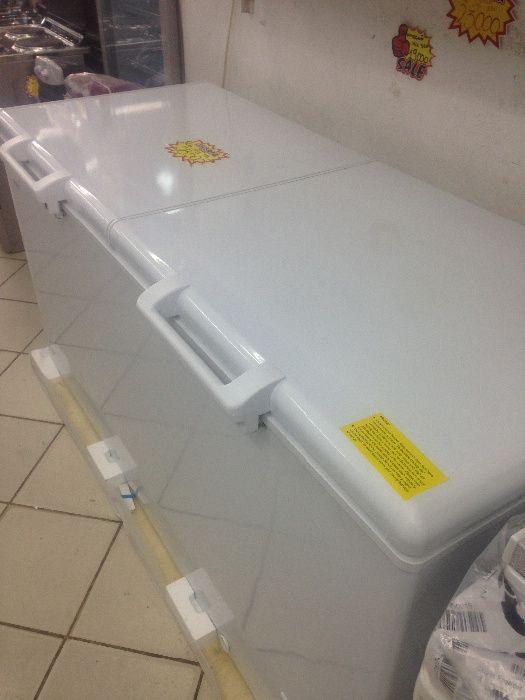 Vendo congelador 588 litros2 tampas marca haier novo na loja e entrega