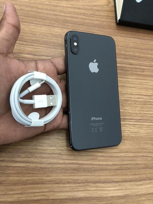 iPhone X(10) preto 64GB super Novo com cabo aceito diferença