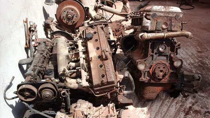Motores avenda em peças