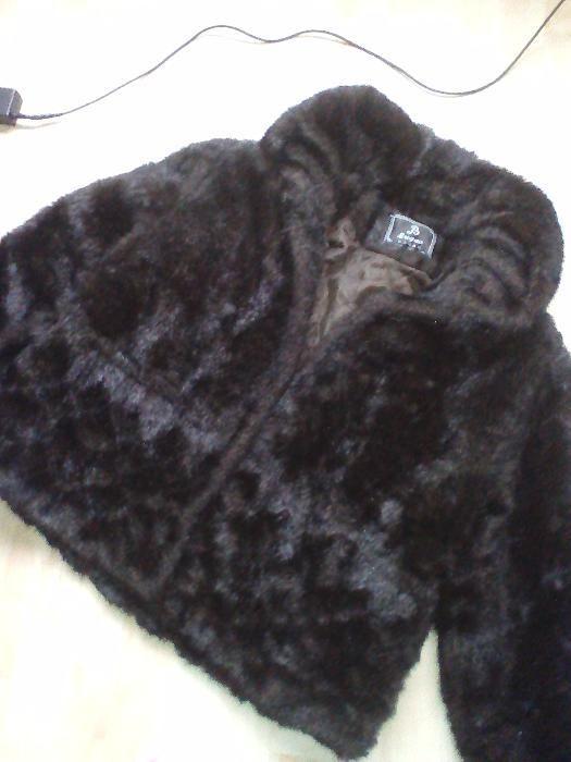 Еко кожено детско палто