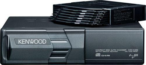 Автомобильный чейнджер компакт-дисков KENWOOD KDC-C465