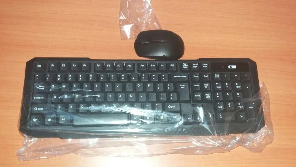 Kit de teclado e Mouse wireless sem fio Maputo - imagem 4