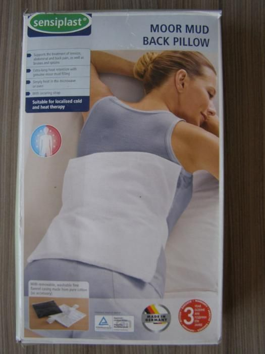 Загряваща възглавница за гръб, moor mud back pillow